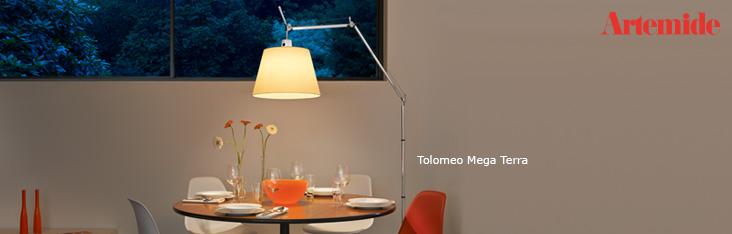 artemide tolomeo mega comprare illuminazione lampade di artemide. Black Bedroom Furniture Sets. Home Design Ideas