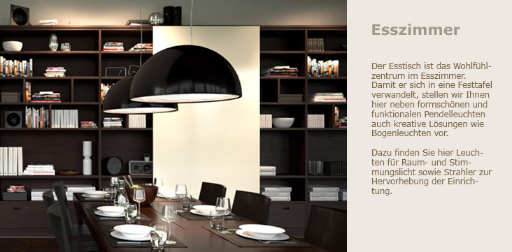 esszimmerleuchten esszimmerlampen. Black Bedroom Furniture Sets. Home Design Ideas