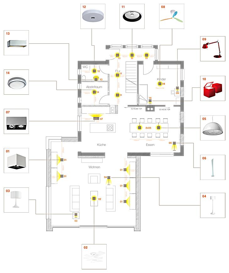 Lichtplanung Wohnzimmer, zum richtigen licht mit professioneller lichtplanung -lightmag, Design ideen